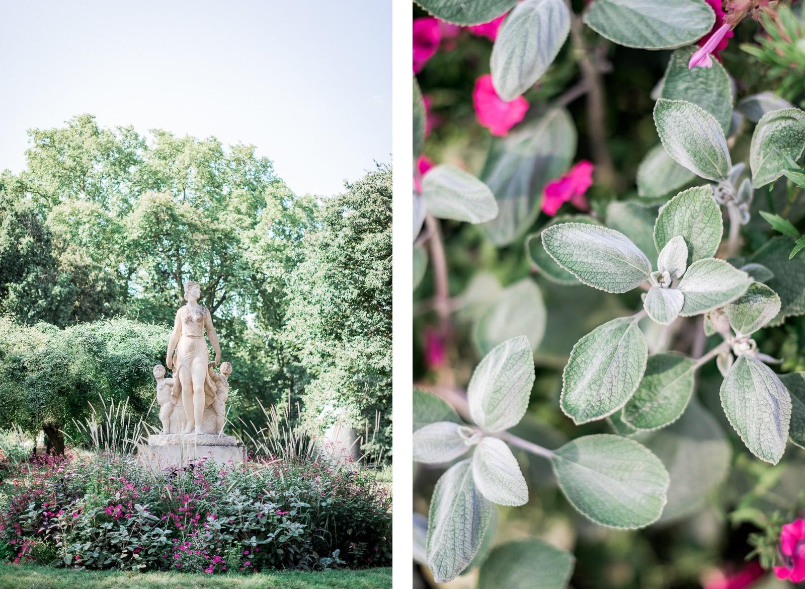Photographie de Mathieu Dété, photographe de couple et famille sur l'île de la Réunion (974), présentant les détails du jardin des plantes de Toulouse