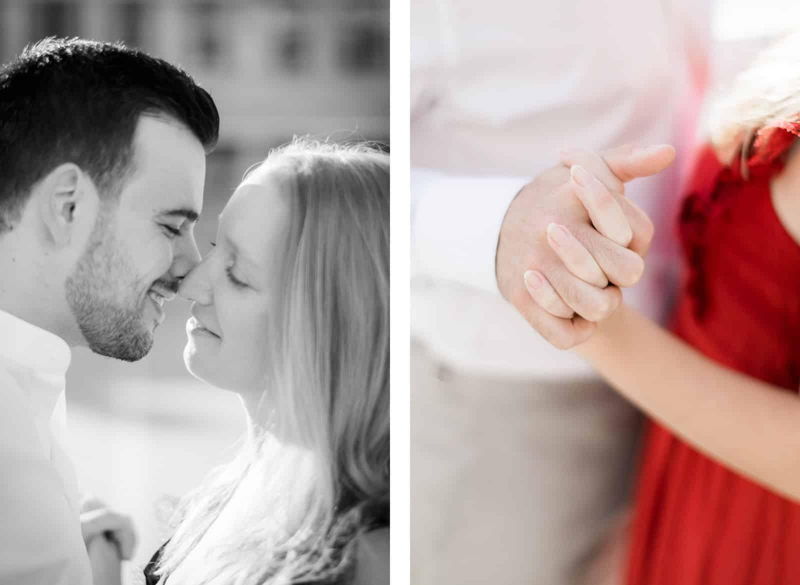 Photo de Mathieu Dété, couple amoureux au Palais Royal