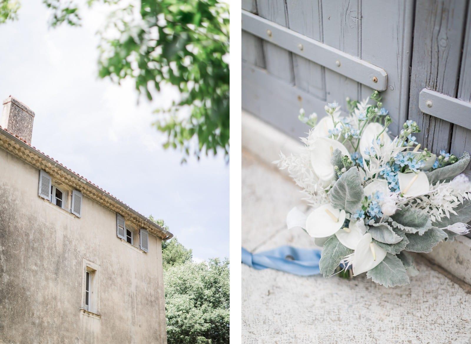 Photographie de Mathieu Dété, photographe de mariage à Saint-Pierre de la Réunion (974), présentant les détails du bouquet de la mariée