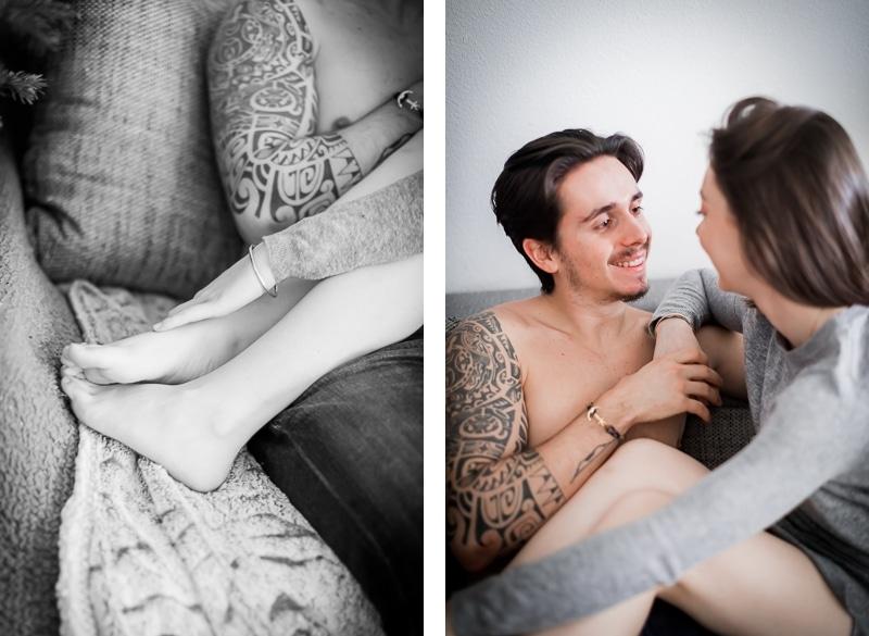 Détails de couple - Séance couple intimité Mathieu Dété