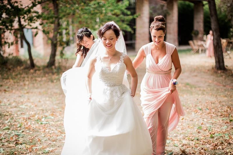 Arrivée de la mariée - Mathieu Dété Photographe