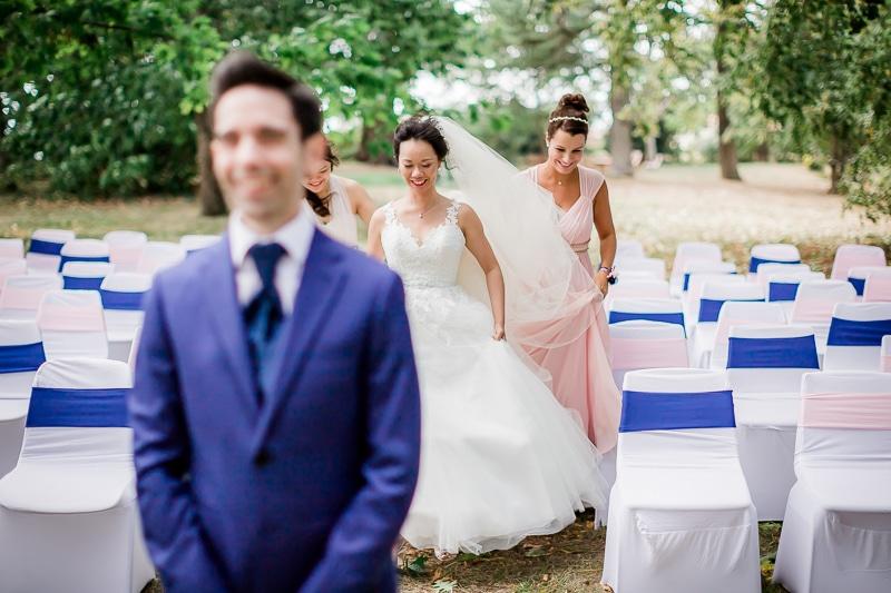 Avant la découverte des mariés - Mathieu Dété Photographe