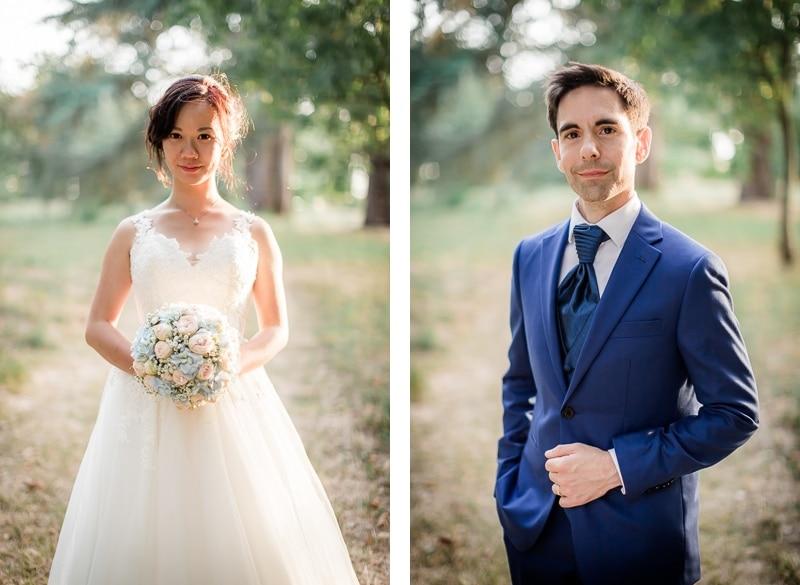 Portrait des mariés - Mathieu Dété Photographe