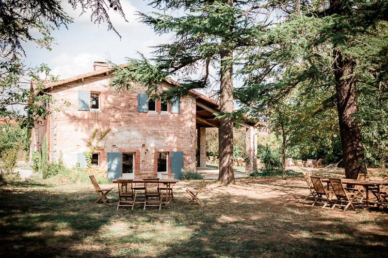 Maison en plan large Toulouse - Mathieu Dété Photographe