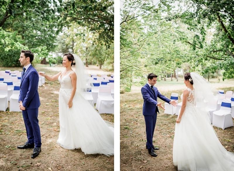 Découverte de la mariée à Saint Genies Bellevue - Mathieu Dété Photographe