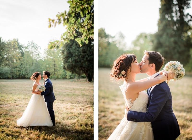 Portrait des mariés à la Bastide Rouge - Mathieu Dété Photographe