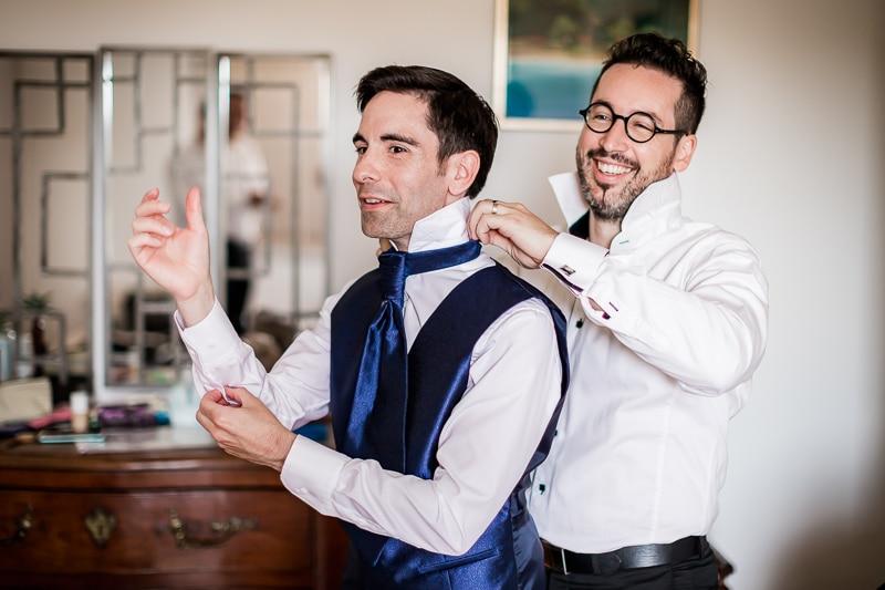 Préparatifs du marié - Mathieu Dété Photographe