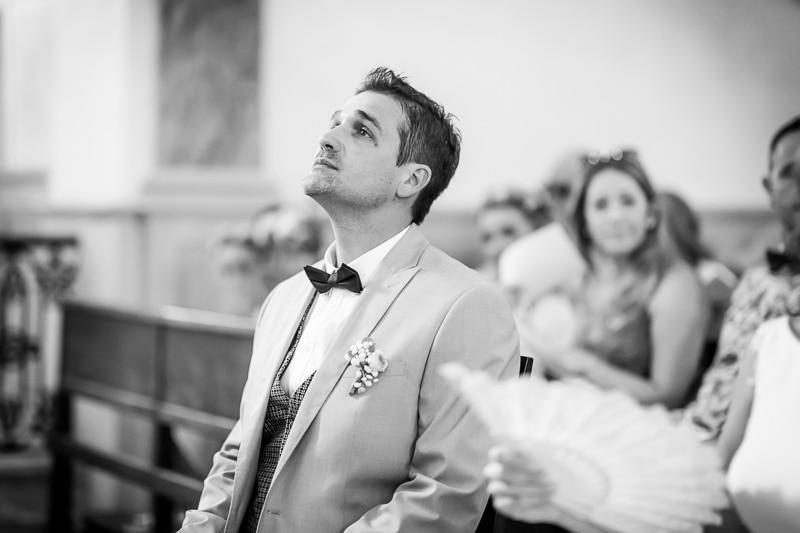 Marié dans l'église
