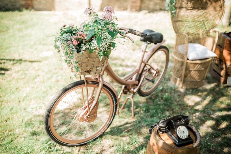 Vélo de décoration