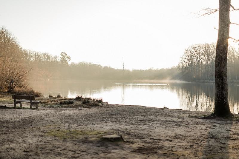 Lac de la Bordette - Photographe mariage portrait Toulouse
