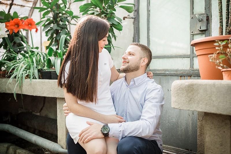 Portrait de couple serres - Photographe mariage portrait Toulouse