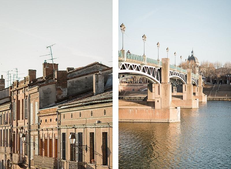 Ruelles et Pont Saint-Pierre - Photographe mariage portrait lifestyle Toulouse