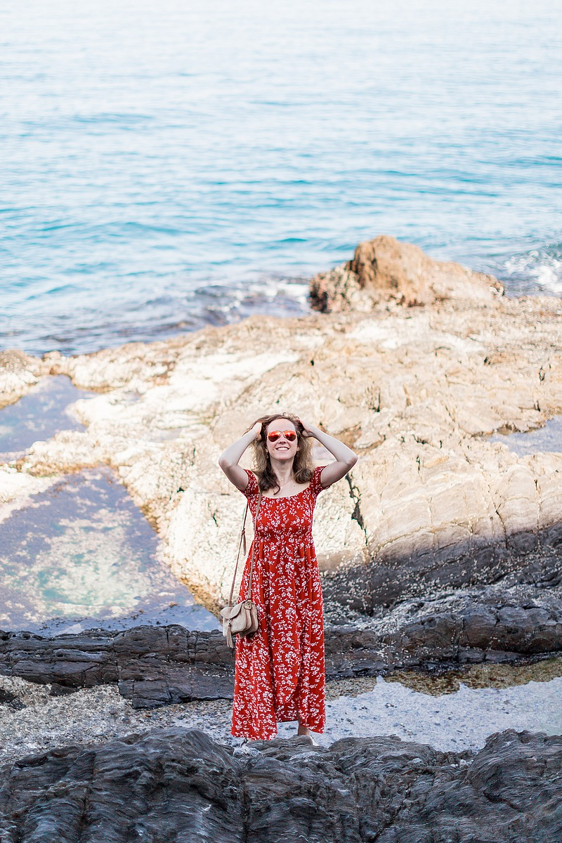 Photographe portraits Collioure mer