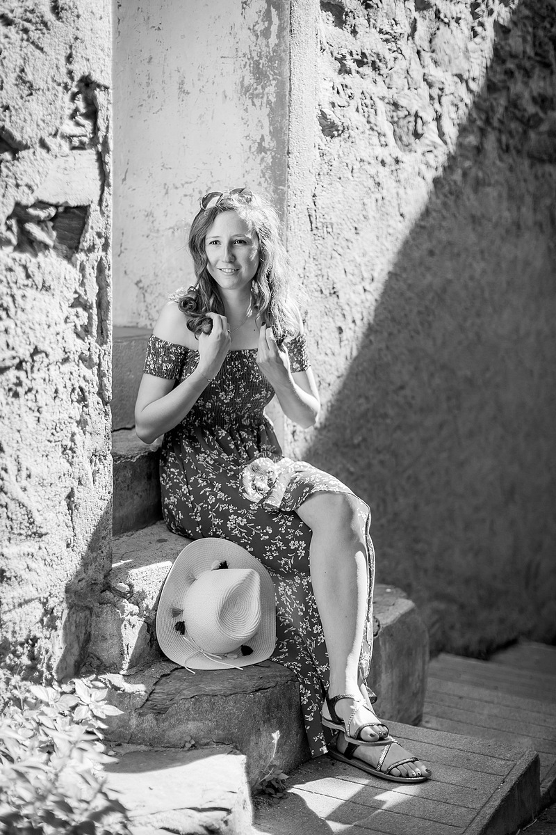 Photographe portraits Collioure